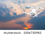 drone white high resolution... | Shutterstock . vector #1006730983
