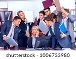 mad business people office.... | Shutterstock . vector #1006733980