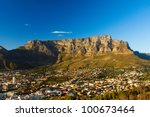 View Of Table Mountain With...