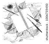 hand drawn vector illustration... | Shutterstock .eps vector #1006735450