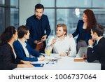 business people team... | Shutterstock . vector #1006737064