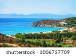 coast at the mediterranean sea... | Shutterstock . vector #1006737709
