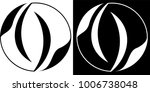 abstraction circle isolated and ...   Shutterstock .eps vector #1006738048