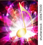 raster copy of  musical... | Shutterstock . vector #100675030