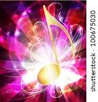 raster copy of  musical...   Shutterstock . vector #100675030