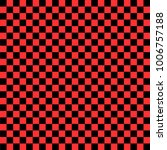 black and red checkered... | Shutterstock .eps vector #1006757188