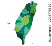 taiwan world map country icon | Shutterstock .eps vector #1006775830