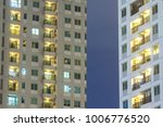residential apartment windows... | Shutterstock . vector #1006776520
