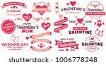 valentine template banner... | Shutterstock .eps vector #1006778248
