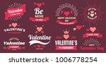 valentine template banner... | Shutterstock .eps vector #1006778254