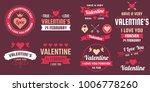 valentine template banner... | Shutterstock .eps vector #1006778260