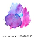 colorful abstract watercolor...   Shutterstock .eps vector #1006780150