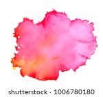 colorful abstract watercolor... | Shutterstock .eps vector #1006780180