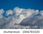 clouds on a summer day | Shutterstock . vector #1006781020