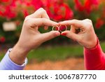 couple in love at the park | Shutterstock . vector #1006787770