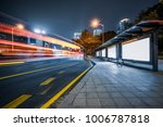blank billboard with light... | Shutterstock . vector #1006787818