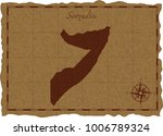 ancient map with somalia... | Shutterstock .eps vector #1006789324