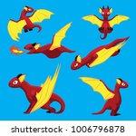 Dragon Flying Poses Cute...