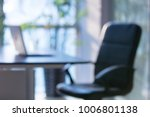 laptop in modern office... | Shutterstock . vector #1006801138