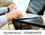 business man working and...   Shutterstock . vector #1006804459