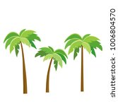 tree palm beach illustrator... | Shutterstock .eps vector #1006804570
