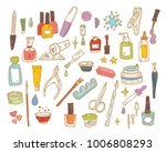 nail beauty spa manicure vector ... | Shutterstock .eps vector #1006808293