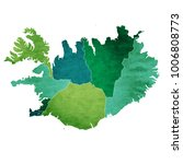 iceland world map country icon | Shutterstock .eps vector #1006808773