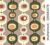seamless vintage pattern  ... | Shutterstock .eps vector #100681078
