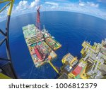 oil and gas industry. aerial...   Shutterstock . vector #1006812379