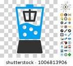 kitchen mixer icon with bonus...