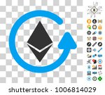 ethereum refund pictograph with ...