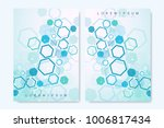 business vector templates for... | Shutterstock .eps vector #1006817434