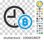 bitcoin credit clock pictograph ...