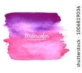 abstract watercolor colorful... | Shutterstock .eps vector #1006819036