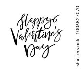 happy valentines day card with... | Shutterstock .eps vector #1006827070
