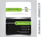 white black and green creative... | Shutterstock .eps vector #1006831174