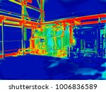 industrial thermography....   Shutterstock . vector #1006836589