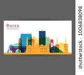 bursa colorful architecture...   Shutterstock .eps vector #1006838098