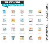 modern flat web design and...