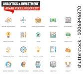 modern flat analytics and... | Shutterstock .eps vector #1006846870