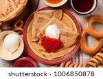 shrovetide maslenitsa festival... | Shutterstock . vector #1006850878