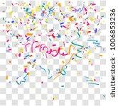 many falling holi color... | Shutterstock .eps vector #1006853236