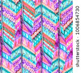 feathers boho pattern ethnic... | Shutterstock . vector #1006854730