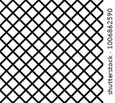mesh pattern net in black lines ... | Shutterstock .eps vector #1006862590