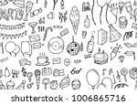 vector background seamless... | Shutterstock .eps vector #1006865716