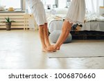 male and female feet | Shutterstock . vector #1006870660