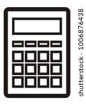 calculator  vector icon   Shutterstock .eps vector #1006876438