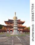 stone pagoda in chongrung... | Shutterstock . vector #1006877554