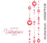 valentine's day illustration... | Shutterstock .eps vector #1006879138