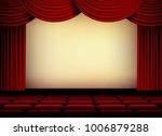 theater or cinema auditorium... | Shutterstock .eps vector #1006879288